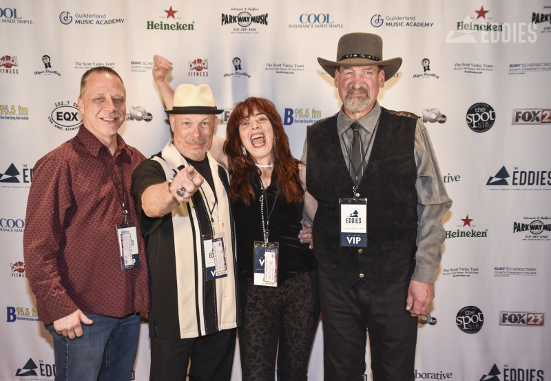 Red Carpet photos from The Eddies, the first anual celebration of Capital Region Music at Proctors Sunday, April 14, 2019.