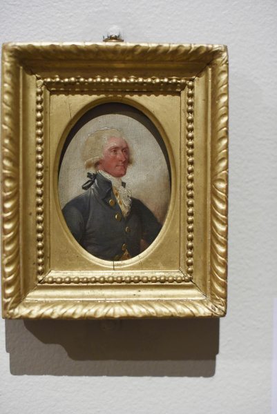 A small portrait of Thomas Jefferson, on display at the Albany Institute of History and Art in Albany Friday, August 16, 2019.